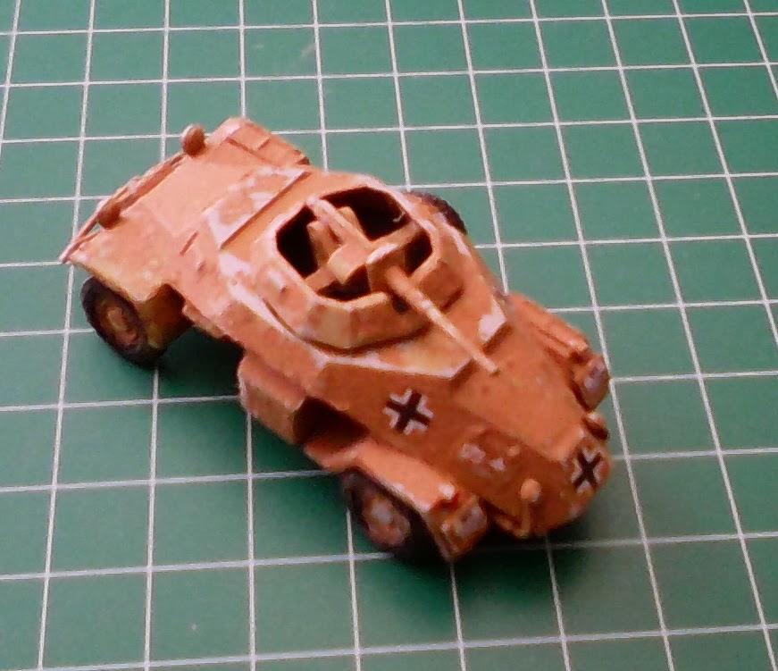 airfix Panzerspähwagen Sd.Kfz. 222