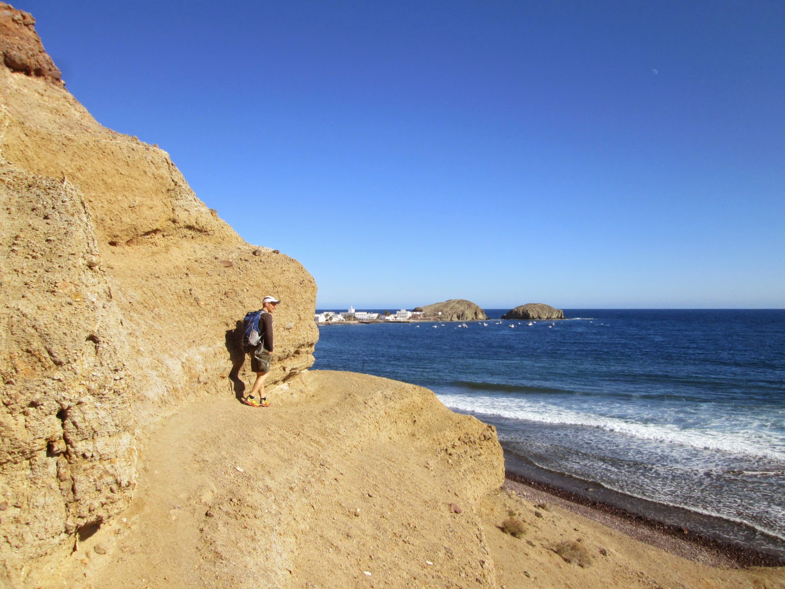 Clifftop Path en route to La Isleta del Moro