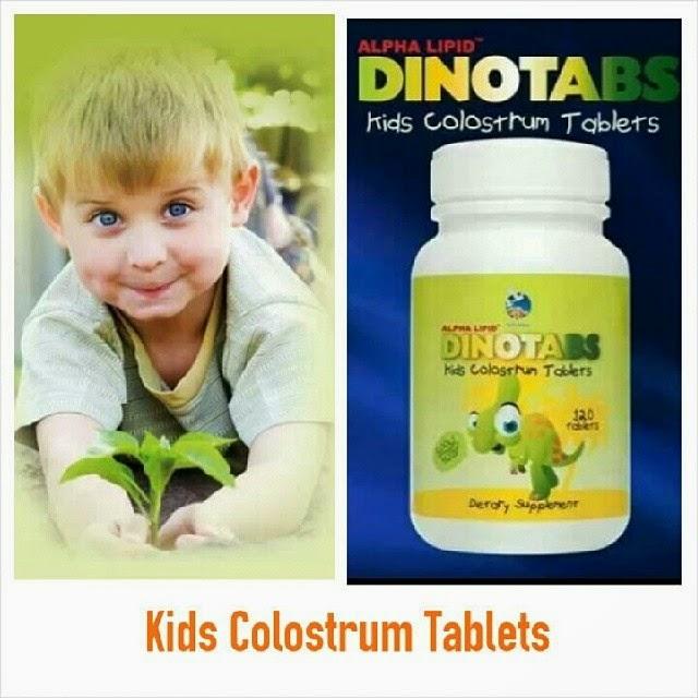 Dinotabs , Colostrum Tablet Untuk Kanak-kanak , Product terbaru dari Alpha Lipid