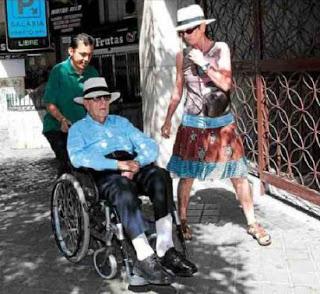 Última aparición pública de Manuel Fraga