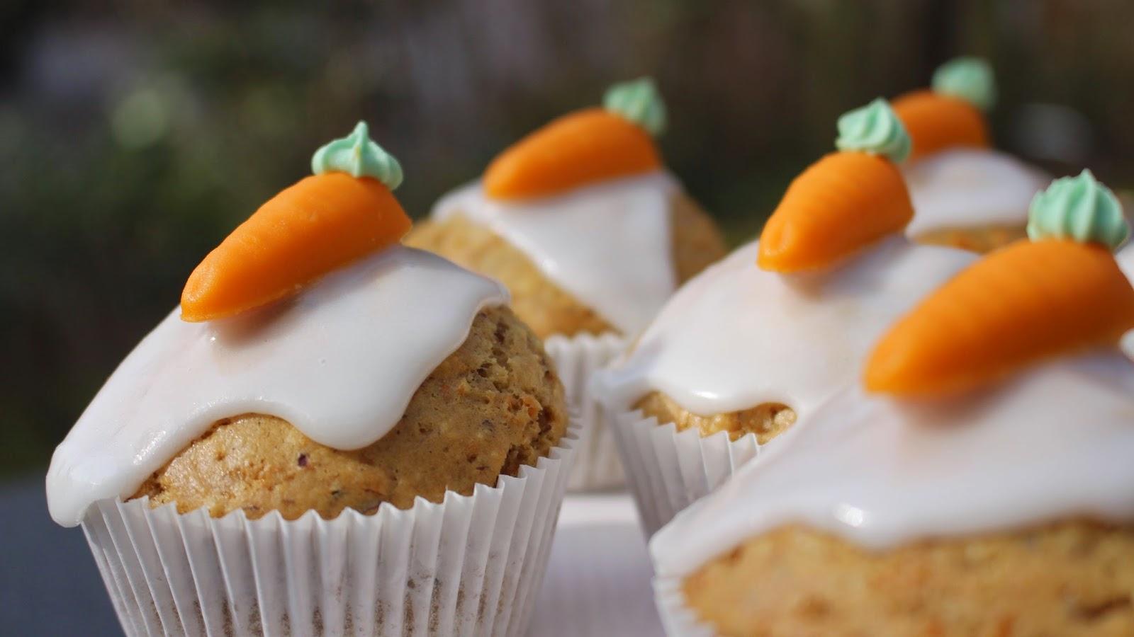 Karotten Muffins vegan