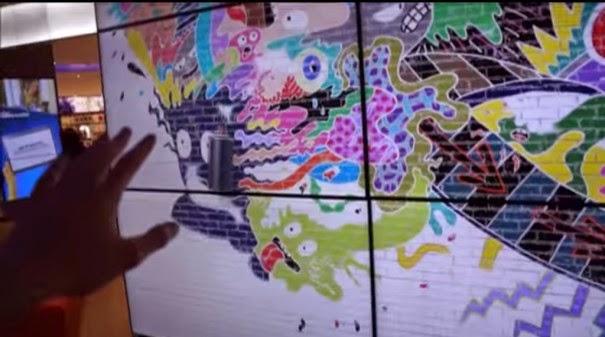Panel interactivo Kinect