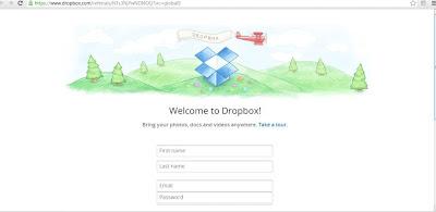 welcome dropbox