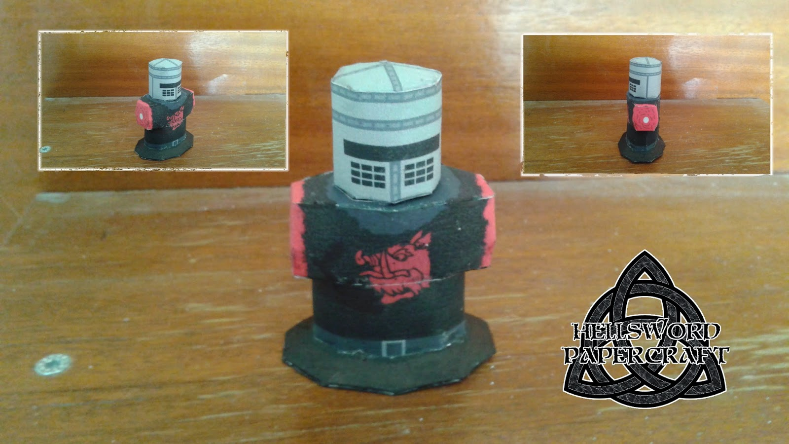 Monty Python Black Knight Papercraft