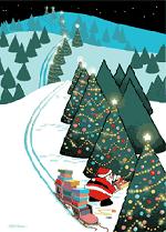 Ciao bambini: Schede sul Natale con esercizi di pregrafismo