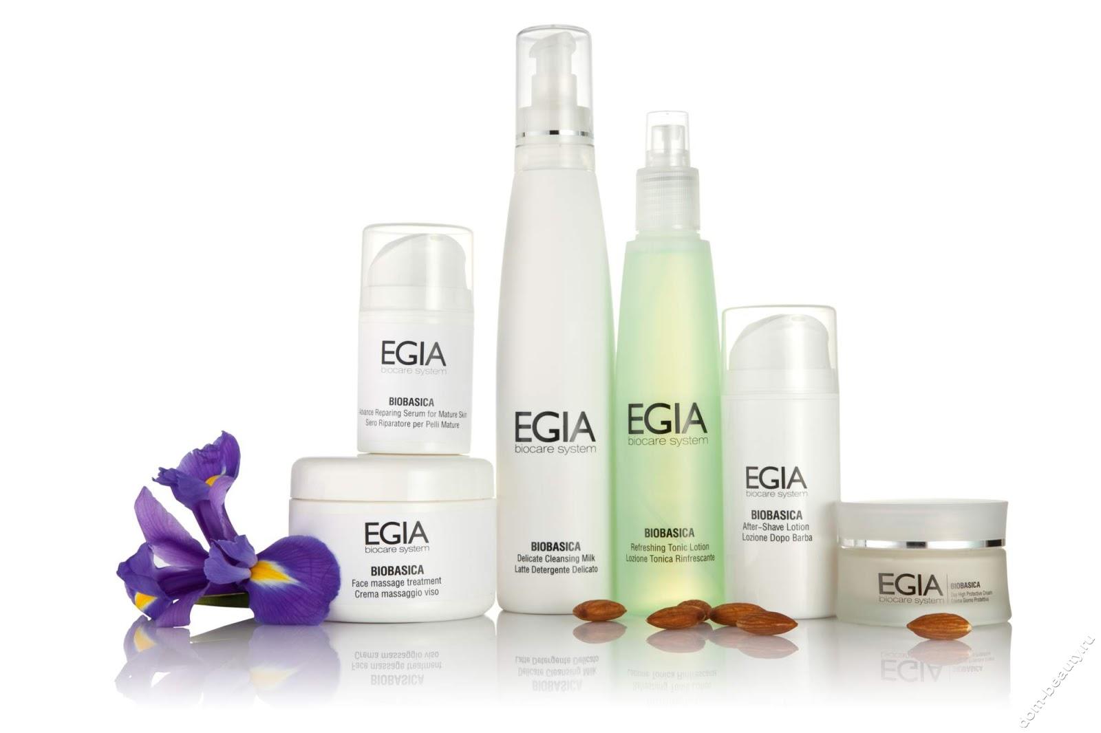 Профессиональная итальянская косметическая линия egia biocar system fashioncolor.