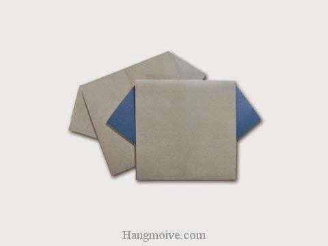 Cách gấp, xếp cái áo bằng giấy origami - Video hướng dẫn xếp hình quần áo - How to fold a T-Shirt