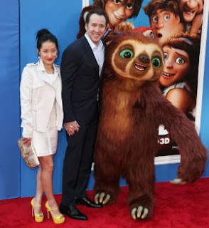 REDCARPET Cage Nicholas Cage On Acting In The Croods and Parenthood