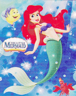 Selimut Cassamia Soft Panel The Little Mermaid