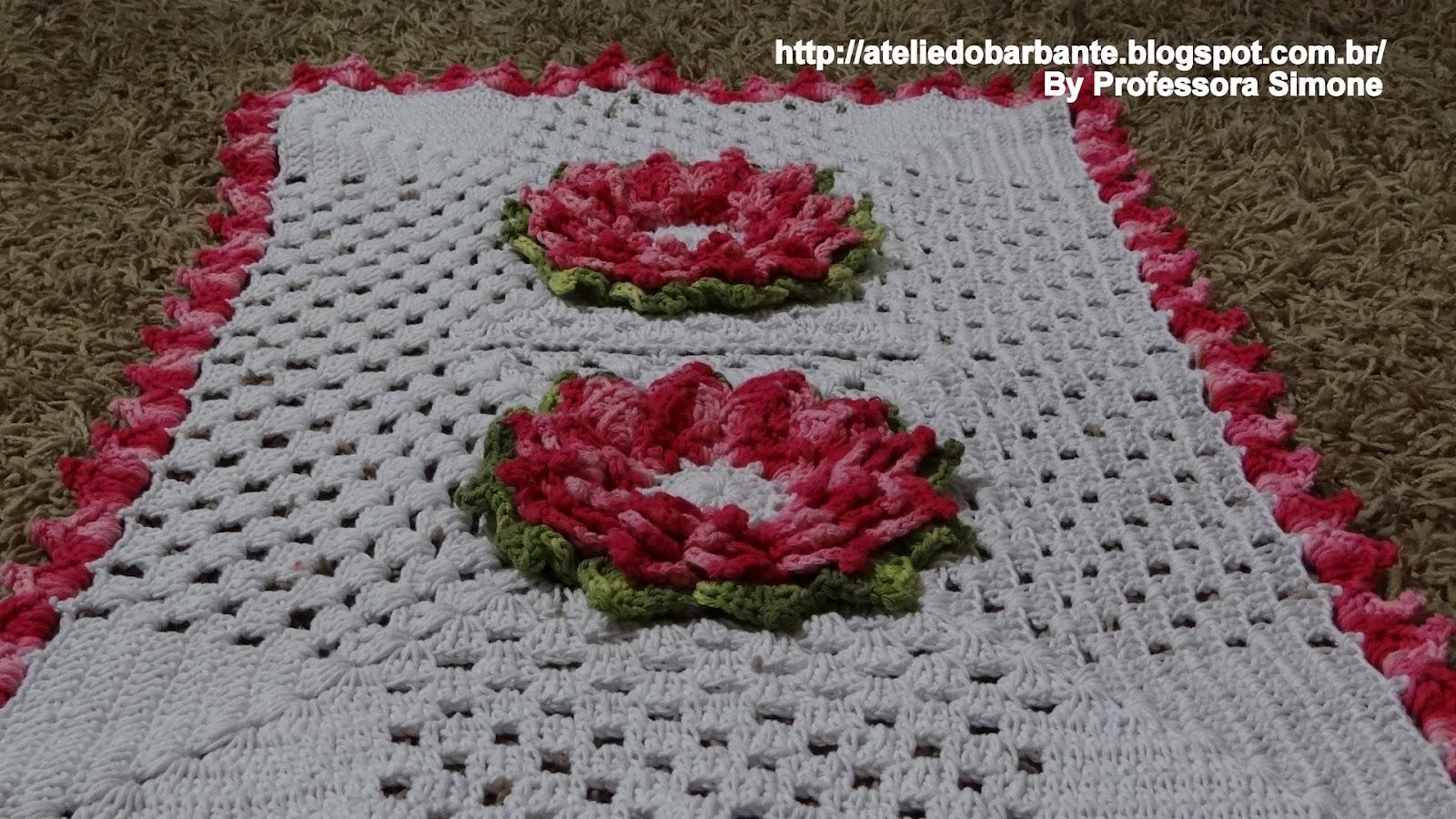 Veja um exemplo de tapete feito com a Flor Giullya: