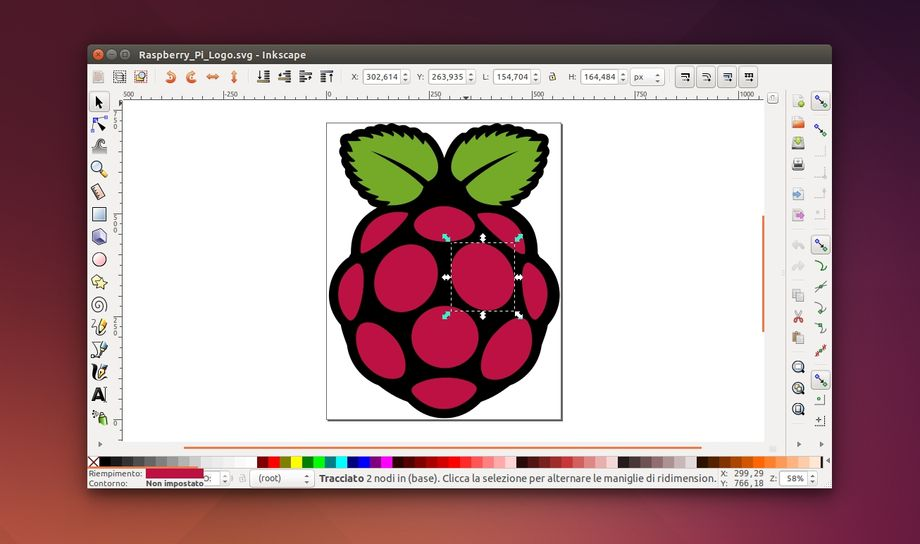 Inkscape in Ubuntu