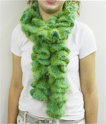 DIY Learn How To Make Easy Hairpin Lace Crochet Scarf