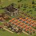 Un ejemplo de ciudad en edad del hierro para Forge of Empires