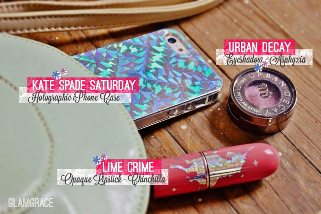 Holographic phone case - Lime Crime - Urban Decay