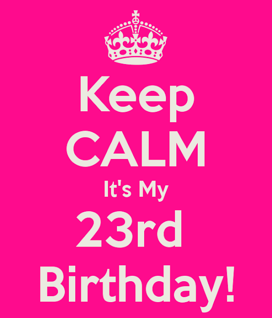 Birthday Cake Images For 23 Year Old : My 23rd Birthday !! - JennGorgeous