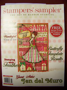 Published in Stampers' Sampler Oct/Nov/Dec 2013