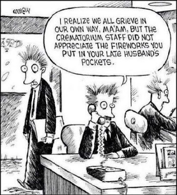 funeral home funny, funeral home comic, funeral home fireworks, crematorium fireworks, 4th of july funny, 4th of july comic, funeral director jokes