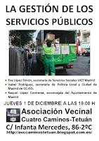 La gestión de los servicios públicos