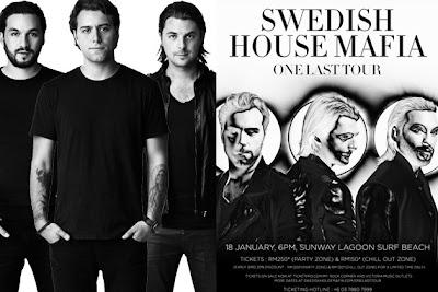 Swedish House Mafia, Bakal, Persembah, Parti, Rave, Terhebat, Hiburan