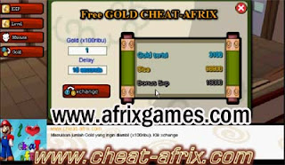 Cheat ATM Gold XP Auto Mission Ninja Saga New