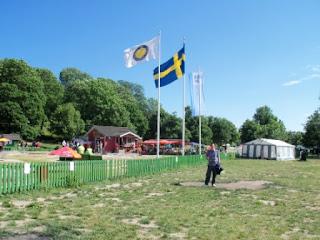 Minigolf at the Tantogårdens BGK at Tantolunden Park, Södermalm, Stockholm