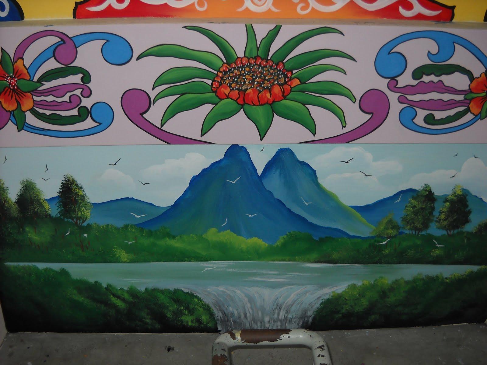 Pelukis mural shah alam mural sekolah for Mural sekolah