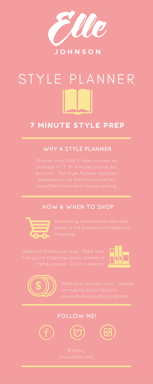 7 MINUTE STYLE PLANNER