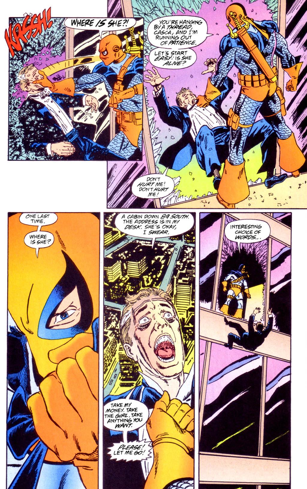 Deathstroke (1991) Issue #40 #45 - English 22