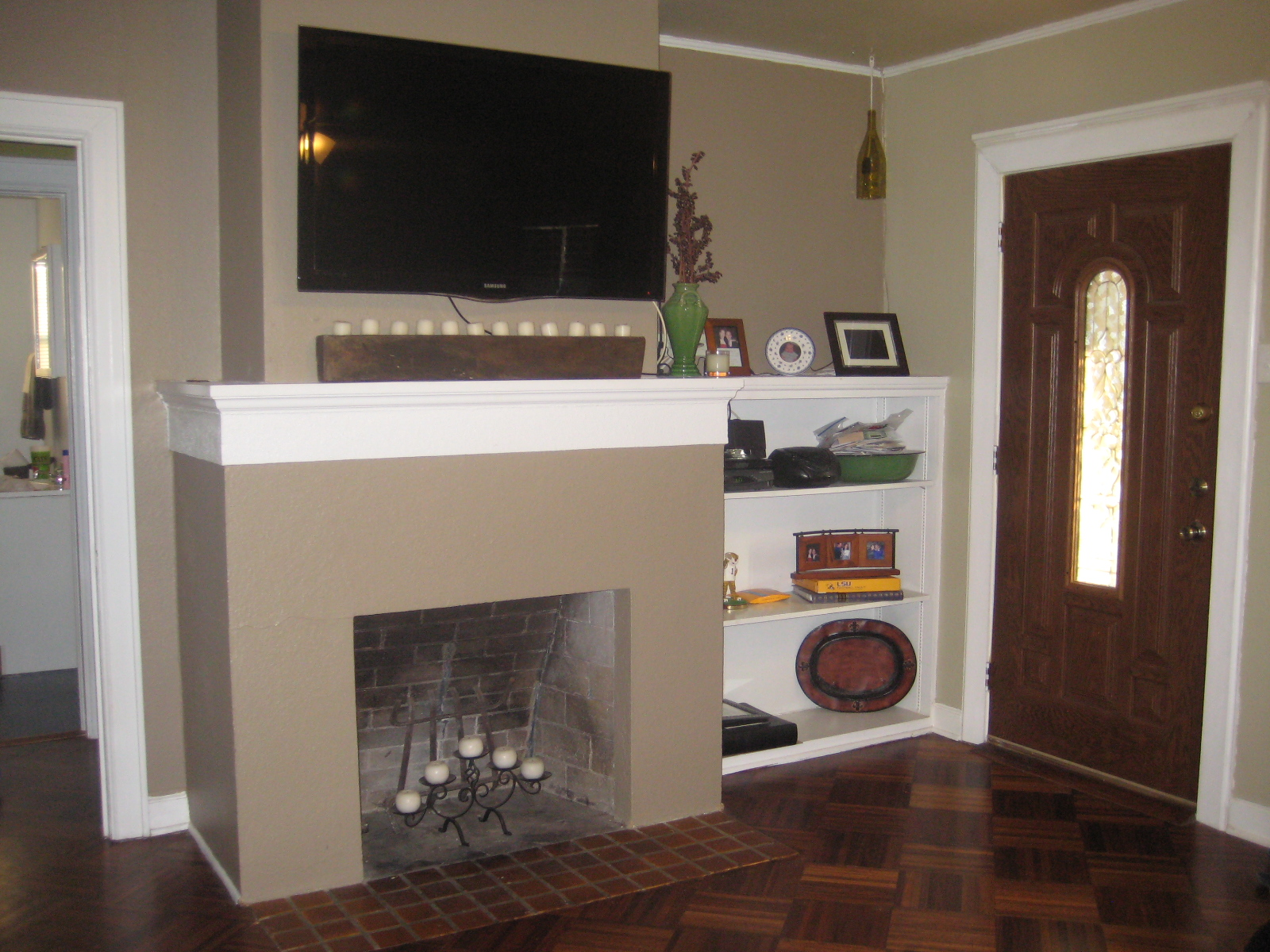 Tv Fireplace Cable Box Bristol CT TV Installation