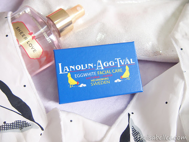 Victoria Lanolin-Agg-Tval Eggwhite Facial Care Soap
