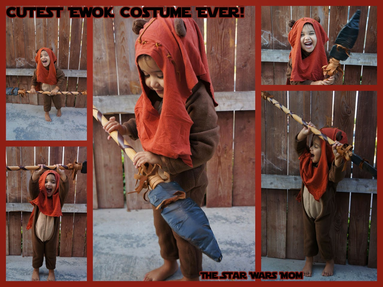 Cutest Ewok Costume Star Wars