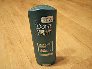 Dove For Men & Care Sensitive Clean Body & Face Shower Gel: de verzorgende douchegel voor mannen met een gevoelige huid!
