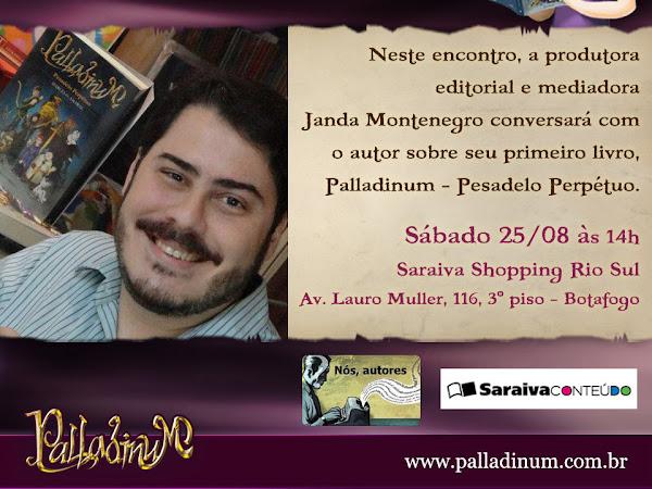 Nós Autores recebe Marcelo Amaral no Rio de Janeiro