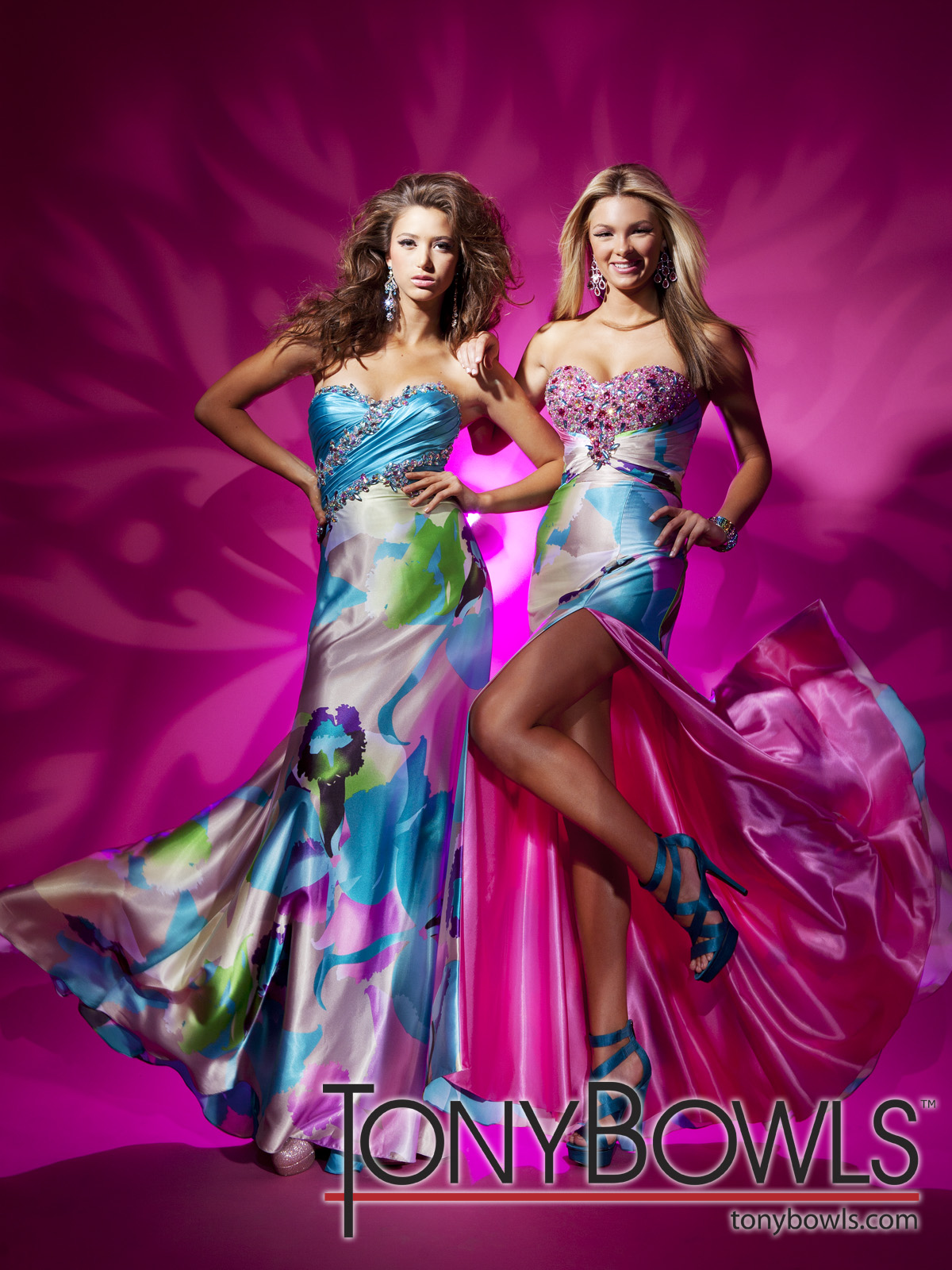 Prom Dresses at Peaches Boutique: Totally GaGa for Tony Bowls Le Gala!!