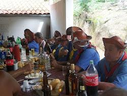 Café da manhã na festa de Cupira