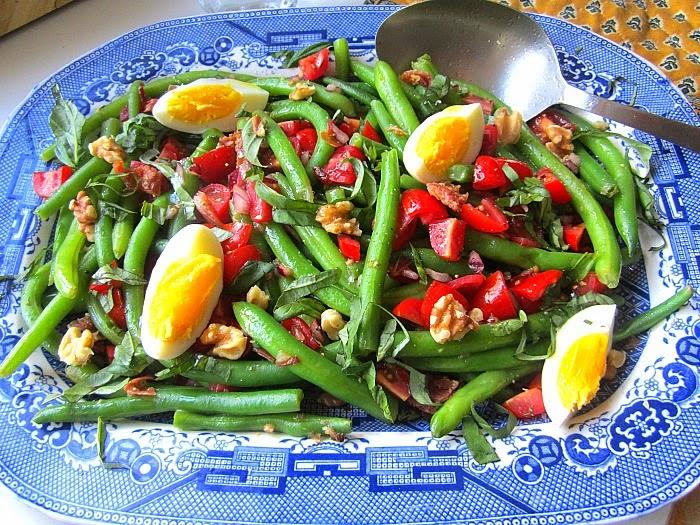 Stacey Snacks: Warm Green Bean Salad w/ Bacon Vinaigrette