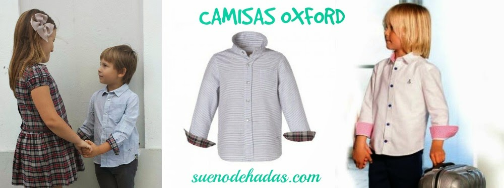 camisa oxford niño
