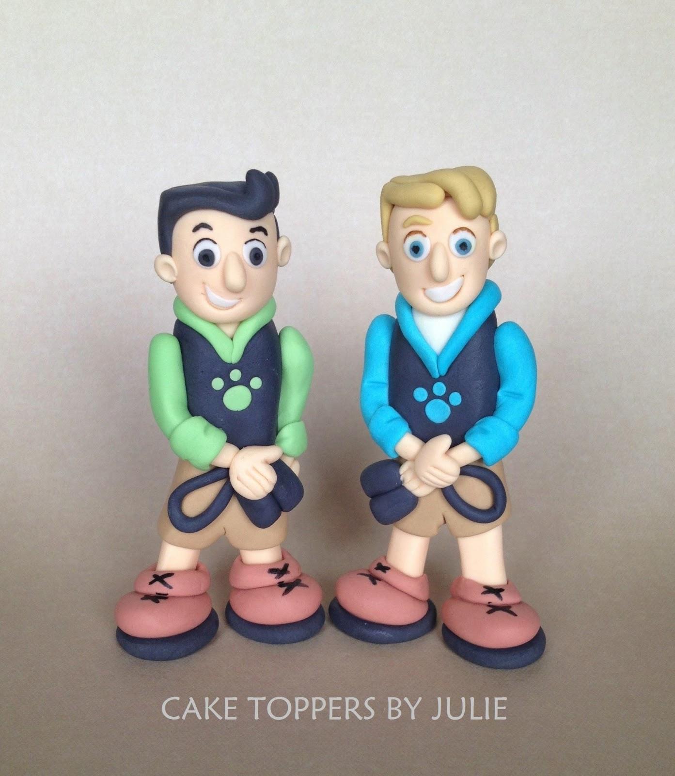 Custom Cakes by Julie: Wild Kratt's Inspired Cake Toppers