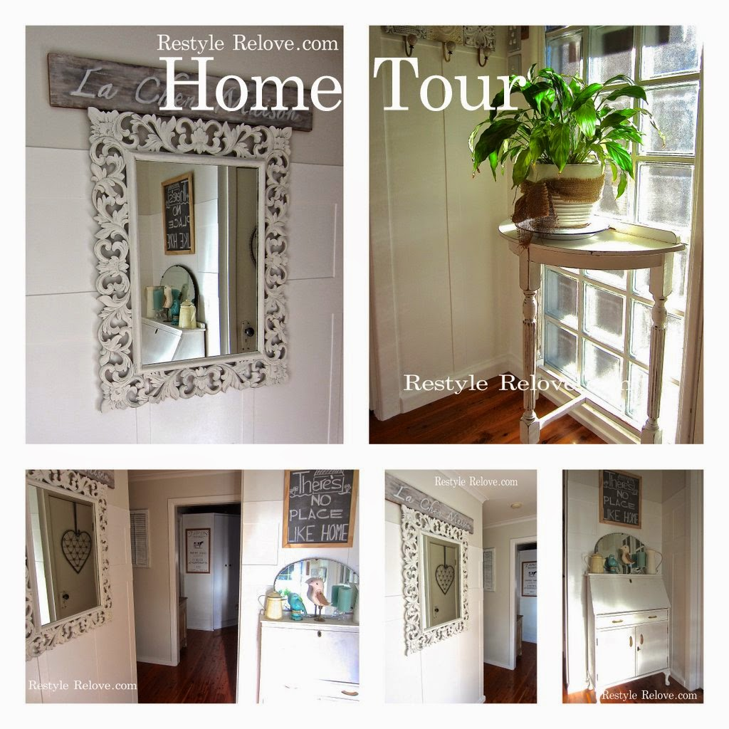 MY RESTYLED HOME TOUR