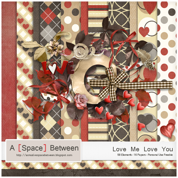 Scrapkit: Love Me Love You