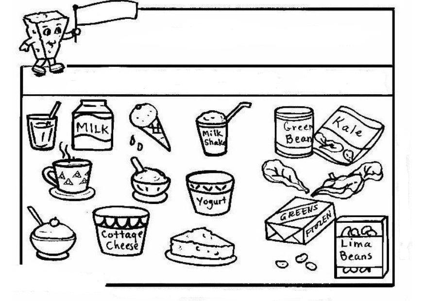 Famoso Libro Para Colorear De Alimentos Regalo - Dibujos Para ...