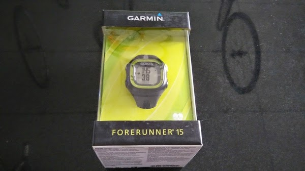 how to set the date on a garmin forerunner 35