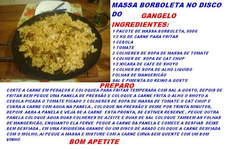MASSA BORBOLETA