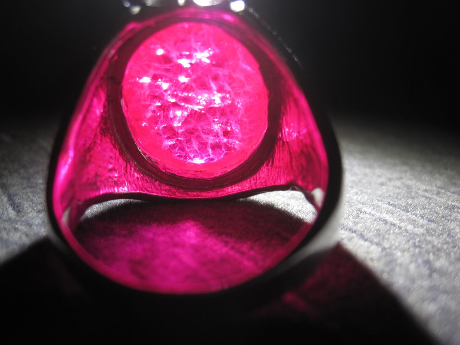 Cincin Merah Delima
