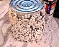 Kerajinan Tangan Sederhana, Membuat Pot Bunga Sendiri Dari Batu 2