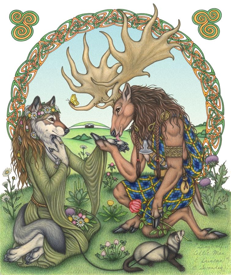 Mito de la creación Wicca