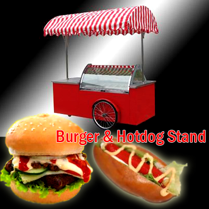 Burger dan Hotdog Stand