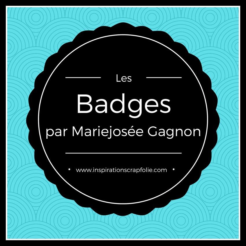 Procurez-vous mes badges exclusifs!