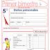 EXAMEN PARA PRIMER BIMESTRE-QUINTO GRADO (2015-2016)