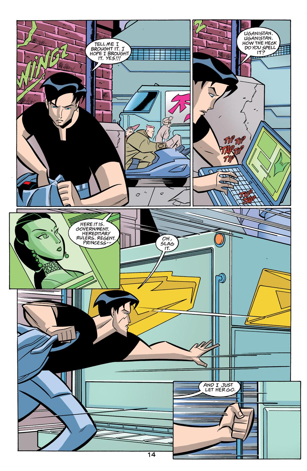 Batman Beyond [II] Issue #19 #19 - English 15
